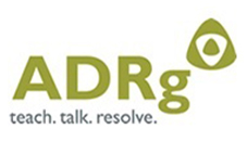 ADRg teach. talk. resolve. logo